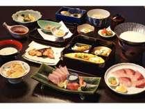 ぶり・白えび満喫会席(料理例)