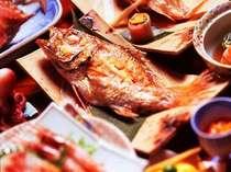 どん!と豪華に♪4大味覚を食べつくそう!【のどぐろ・あわび・カニ・舟盛り】付きプラン!