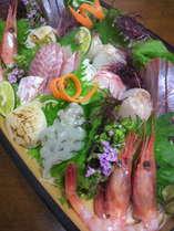 お魚にお肉に♪4大味覚を食べつくそう!【くびき牛・あわび・カニ・舟盛り】付きプラン!