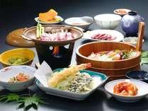 【グルメ三昧】食事も大満足◆飛騨牛・刺身盛・馬刺しが付いた贅沢コース♪
