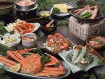 ■ 越前がに一杯付き 蟹フルコースプラン