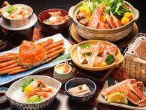 ◆豪華絢爛・越前かにフルコース◆日本海の味覚の王様☆『越前ガニ』を食べつくそう!!