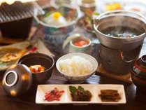 福井の名産が朝から貴方を「おもてなし」バランス◎ボリューム◎の健康朝食です♪