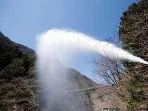 日本一の源泉 毎分1600リットル以上 館内のお湯は全て源泉掛け流し100%