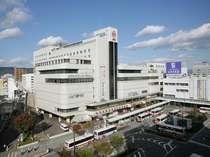 ホテルはJR和歌山駅前の好立地。