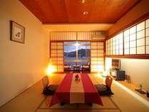 四季折々に表情を変える福良湾をお部屋から眺める贅沢なひと時