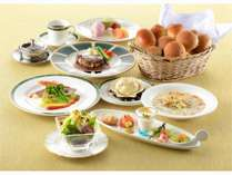 2017春 洋食コース  お肉や魚介など旬の食材をご提供♪