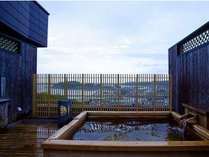 【貸切露天風呂天空の湯】45分@2,000円(別)美肌温泉に浸かりながら、白浜、相差漁港などの絶景を