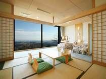和洋室から望む景色(昼間)