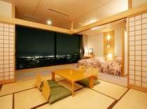 和洋室から望む夜景