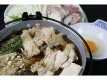 【お料理重視】信州黄金軍鶏の「温泉蒸し鍋+焼きつくね+モツ煮込み」で軍鶏三昧《1泊夕食・朝食付》