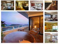 【客室】 露天風呂付客室・プレミアムルーム・和洋室・和室・洋室
