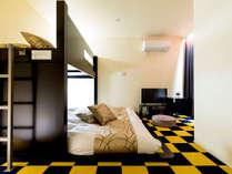 301号室◆明るい雰囲気のモダンカラーのお部屋