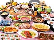 【ぐんま地産地消推進店】おいしい群馬ビュッフェ:地元食材や郷土料理が数多く並びます♪