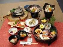 【夕食】三国会席 お料理例