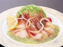 《お好み特選料理》海の幸のカルパッチョお一人様1000円で承れます♪
