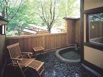 【仙山亭】特別室 お部屋に付いた露天風呂