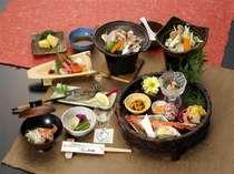 【夕食】最高のコストパフォーマンスが味わえる浅貝会席コース! お料理の一例