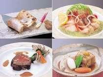 【夕食】「選べないよ~」と大好評!●西京焼 ●カルパッチョ ●ローストビーフ ●越後もち豚の角煮