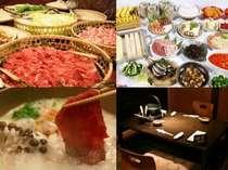 毎年大好評!!カニ食べ放題&鍋バイキングはグループごとに4種から選べるお鍋と、新潟の美味が食べ放題!