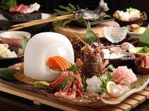 【夕食】「もう食べきれないよ~」と大人気!本陣特選お料理例