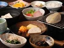 【朝食一例】「魚沼産コシヒカリ」はお替り自由!※日によってはバイキングでのご用意になります