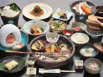 【太閤会席】本陣一番人気♪ グルメの方におススメです♪(料理例)