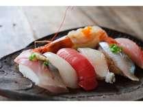 """【スタンダード】夕食時にお好きな寿司を3貫チョイス!""""鷹の家 旬菜会席""""プラン♪ 熊本夏旅"""