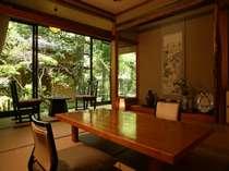 「四季折々の風情」を楽しむことが出来るお部屋。静かな佇まい。