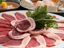 ≪12月~2月限定≫ 山陰産の天然物のみ使用!柔らかな若猪肉とお野菜の『ぼたん鍋』