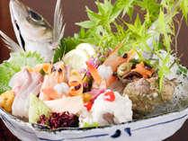 定番プラン!『料理長がその日のオススメを厳選!日本海の幸コース』【囲炉裏でお食事】