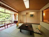 リバーサイド客室(10畳+ツイン)