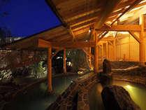 大浴場「花ももの湯」多彩な内湯や庭園に点在する露天風呂群デビュー♪