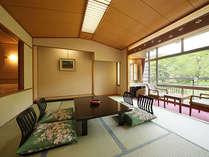 リバーサイド客室(8畳+ツイン)