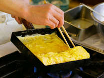 『朝食メニュー』手作り厚焼き卵