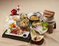 【旬魚食通】料理長おすすめ季節の和会席に舌鼓~人気の朝食も付いた「満喫グルメプラン」