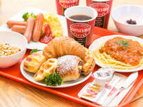 ■朝食付■simple plan【Wi-Fi 完備】!種類豊富な焼き立てパンの香り漂う!和洋バイキング!