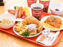 朝食:シアトルズベストコーヒー朝食バイキング