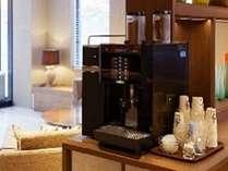 ロビーにはコーヒーサーバーご用意してます