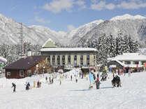 ★スキーを楽しむこどもたち ★ゲレンデも目の前です