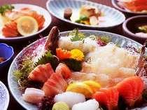 【活き造りプラン】活き造りのお魚を選べるよ