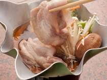 地元産豚肉で、あっさりすき焼き☆