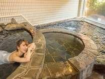 【女性大浴場】寝湯では横になってゆっくり出来ます♪