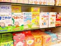 ●赤ちゃん用 離乳食 本館2F タックにて販売