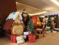 クリスマスロビーイメージお菓子のお家