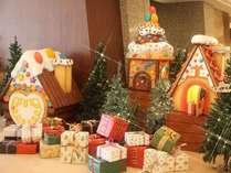 クリスマスロビーイメージお菓子の家