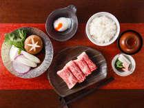◆鉄板焼レストラン「舞浜 Teppanyaki+」◆すき焼きディナーセット  ※イメージ