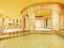 ■別館OASIS内にある「舞湯」 は大理石の広いお風呂。タオル等の備品もご用意しております。