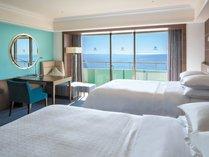 ◆オーシャンドリームルーム◆(一例)大きな窓からは、太陽の光が差し込み気持ちの良い朝が迎えられます