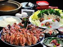 【冬季限定★鍋料理】山陰の冬の味覚と言えばコレ♪ 『 かにすき鍋コース 』